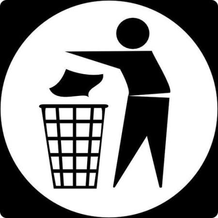 Штраф за мусор в неположенном месте