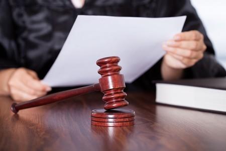 Подача ходатайства в суд