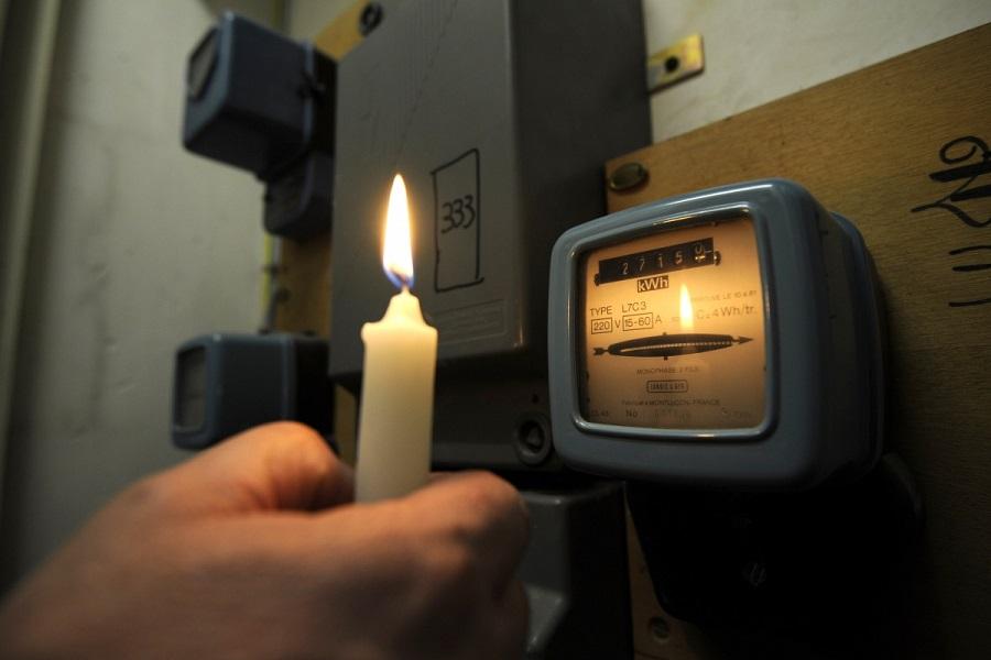 В случае отключения электроэнергии