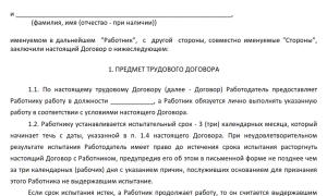 Правила заключения трудового договора с иностранным гражданином и образцы для скачивания