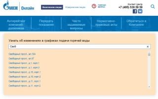 График отключения горячей воды в Москве по адресам