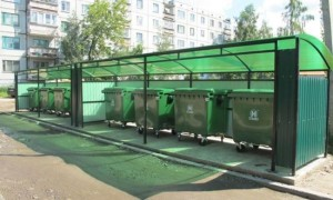 Особенности расположения мусорных контейнеров