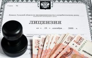 Ответственность за предпринимательскую деятельность без лицензии