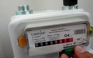 Почему скрипит газовый счетчик