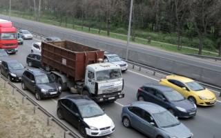 Как могут наказать водителя занесоблюдение дистанции