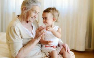 Как прописать ребенка у бабушки