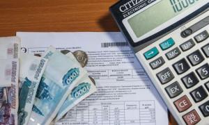 Начисление пени за просрочку коммунальных платежей